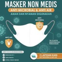 Masker Sritex Kain non medis model duckbill n95 (bukan sensi diapro)