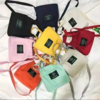 Mini bag korea / Slingbag canvas