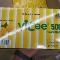 VICEE VITAMIN C LEMON BOX 50x2'S