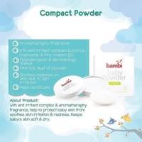 Bedak Bayi Bambi / Bedak Bayi / Compact powder bayi / Compact bayi