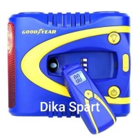DIGITAL TIRE INFLATOR WITH REMOVABLE TIRE GAUGE - GY-2509 GOODYEAR
