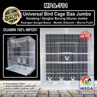 Kandang / Sangkar Burung Ukuran Jumbo [ Size XXL ] MPA-701