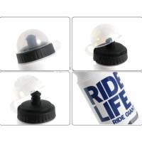 HOT SALE Botol Minum Olahraga Sepeda 750ml - Ride life - Putih