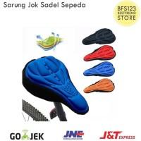 HOT SALE Sarung Sadel Jok Sepeda Empuk - Hitam TERJAMIN