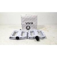 HOT SALE Pedal Viva Bisa Dipasang Strap Ringan dan Tidak Licin