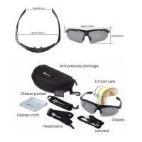 HOT SALE Rockbros 089 Ultralight Kacamata Sepeda Polarized Myopa 5