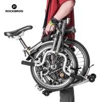 HOT SALE Rockbros B38 Bike Carrier Handle Grips Shoulder For Brompton