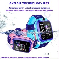 Jam Imo Q12 Anti Air Bahasa Indonesia GPS/LBS Smart Watch Phone Kids