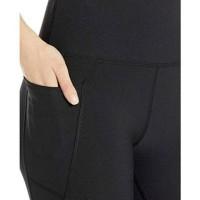 Gottex black curve mesh highwaist legging