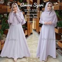 Baju gamis wanita AMIRA SYARI Busana muslim wanita free hijab