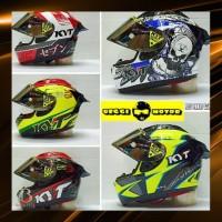 Helm Kyt Rc7 Paket Ganteng / KYT Rc seven