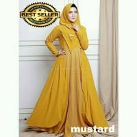 baju muslim wanita gamis Jazeerah syari set terbaru grosir