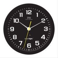Jam Dinding Stylo Glow in The Dark Diameter 34cm Sweep dengan KDL520