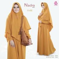 Baju gamis Syari NADRA MAXY DRESS Set Hijab