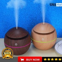 Aromatherapy diffuser Humidifier difuser ESSENTIAL OIL pengharum QC292 - Kuning