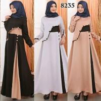 Haura maxi dress maxy Gamis wanita Gamis muslim