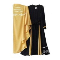 Baju Gamis Syari MARWAH SET Hijab