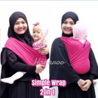 XkQ ~ Hanaroo Simple Wrap Gendongan Bayi Multifun
