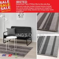 wKf ~ IBSTED 2 pilihan ukuran Karpet, bulu tipis, ab