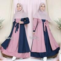 Baju Gamis Wanita Terbaru AMARA MAXI Dress Murah Berkualitas