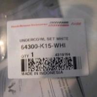 Undercowl Set White CB 150 R Lama Ori Honda Genuine Accessor 506 bos