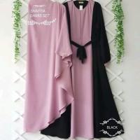 Baju gamis wanita SHAFIYA SYARI Busana muslim wanita free hijab