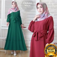 PROMO Gamis Wanita FARAH MAXI DRESS Baju Muslim Terbaru