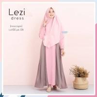 Baju Gamis Wanita LEZI DRESS Free Hijab Syari