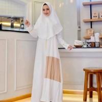 baju muslim wanita gamis Malia syari set khimar grosir new
