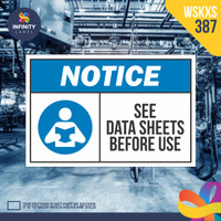stiker rambu keselamatan label k3 safety sign sticker imo WSKXS-387