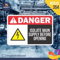 stiker rambu keselamatan label k3 safety sign sticker imo WSKXS-354