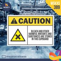 stiker rambu keselamatan label k3 safety sign sticker imo WSKXS-389