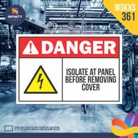 stiker rambu keselamatan label k3 safety sign sticker imo WSKXS-361