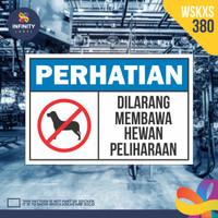 stiker rambu keselamatan label k3 safety sign sticker imo WSKXS-380