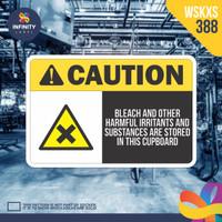 stiker rambu keselamatan label k3 safety sign sticker imo WSKXS-388