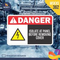stiker rambu keselamatan label k3 safety sign sticker imo WSKXS-362