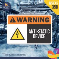 stiker rambu keselamatan label k3 safety sign sticker imo WSKXS-358