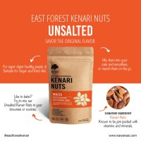 East Forest Kenari Nuts Unsalted 80 Gr - Kacang Kenari Original