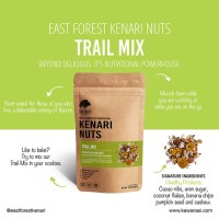 East Forest Kenari Nuts Trail Mix 80 Gr Kacang Kenari Isi Campur