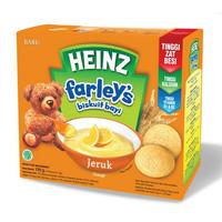 Heinz Farley's Biskuit Bayi Heinz Farley Biskuit Farleys Snack Bayi - ORANGE