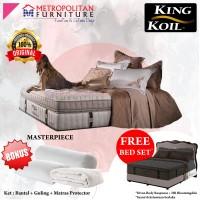 Springbed KING KOIL Masterpiece 200 x200 FULL SET Kasur Spring bed