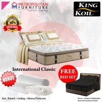 Spring bed KING KOIL International Classic 160 x 200 FULL SET Kasur