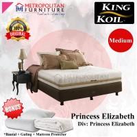 Springbed King Koil Princess Elizabeth 120 x 200 SET Divan + Kasur