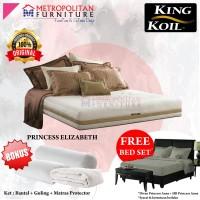 Springbed King Koil Princess Elizabeth 200 x 200 FULL SET Kasur
