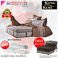 Springbed KING KOIL Masterpiece 180 x 200 FULL SET Kasur Spring bed