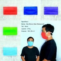 Masker Kain Tebal Anti Virus Anti Debu - Biru Muda