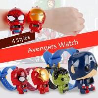 Jam Tangan Anak Karakter Pencet SUPERHERO THSH