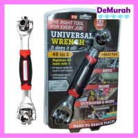 Tiger Wrench Kunci Pas 48 in 1 Universal Wrench 0558