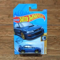Diecast Hot Wheels 98 Subaru Impreza 22b STi version Blue