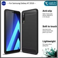 Case Samsung A7 2018 Soft Samsung Galaxy A 7 Premium Casing Slim Cover